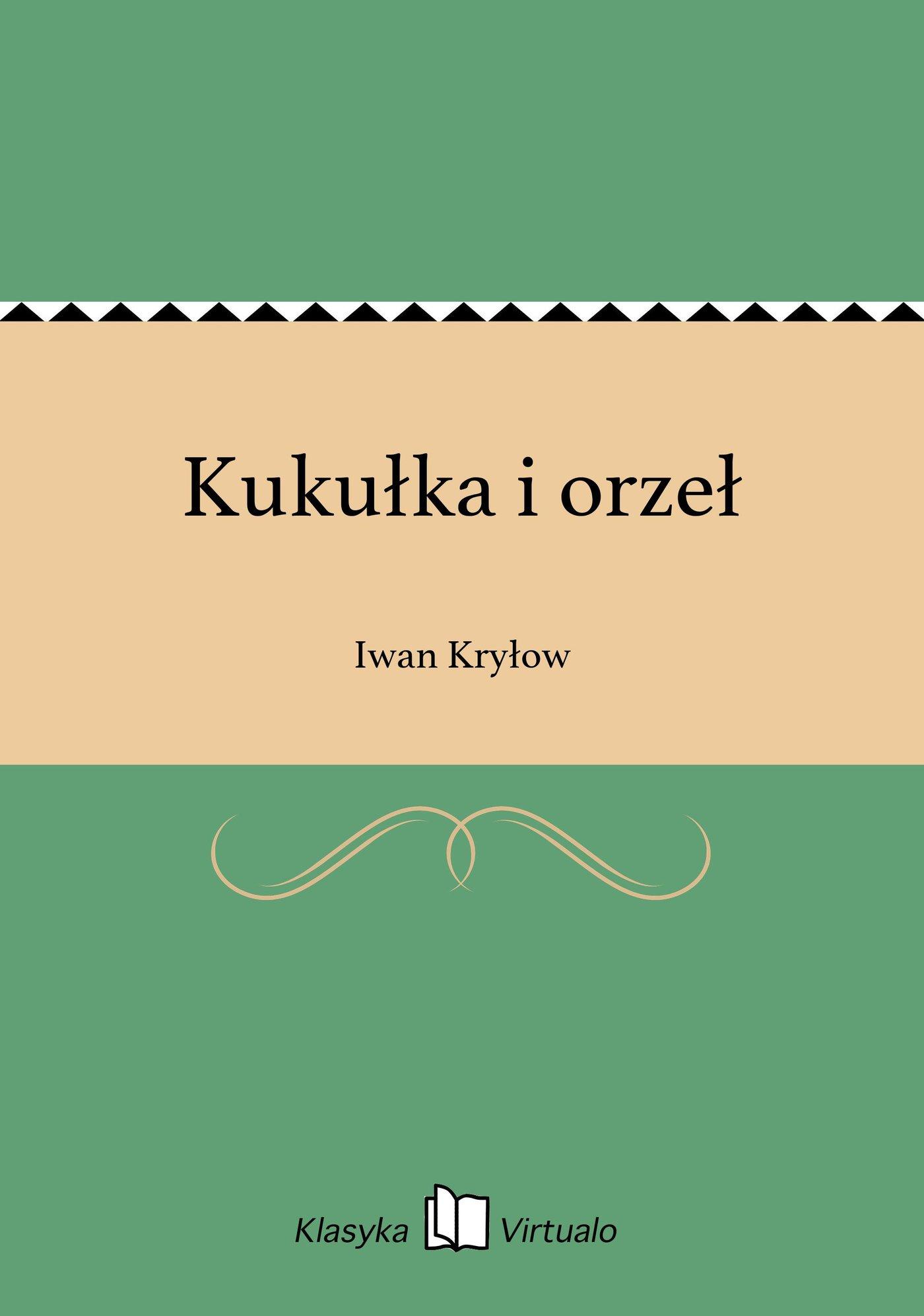 Kukułka i orzeł - Ebook (Książka EPUB) do pobrania w formacie EPUB