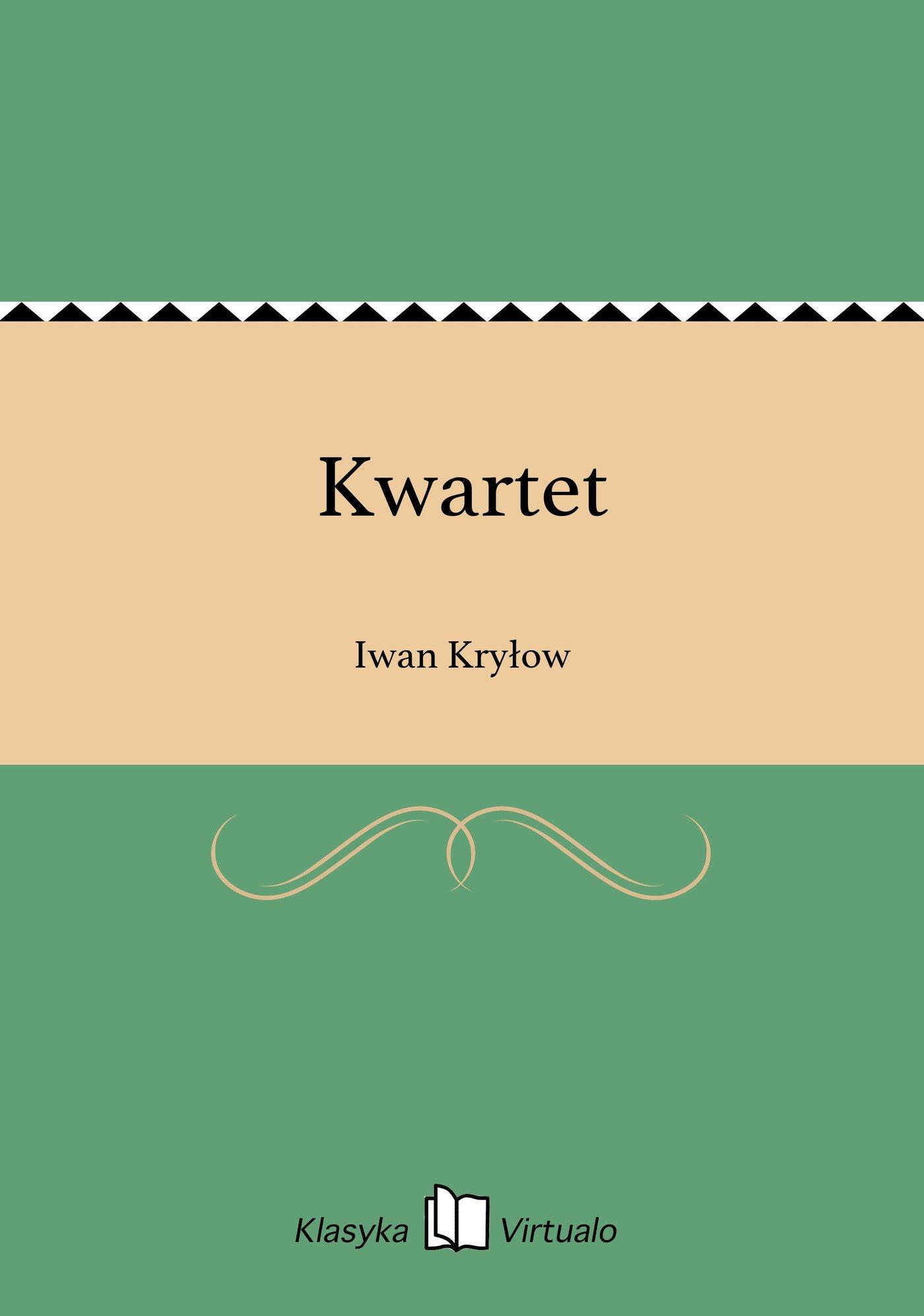 Kwartet - Ebook (Książka EPUB) do pobrania w formacie EPUB