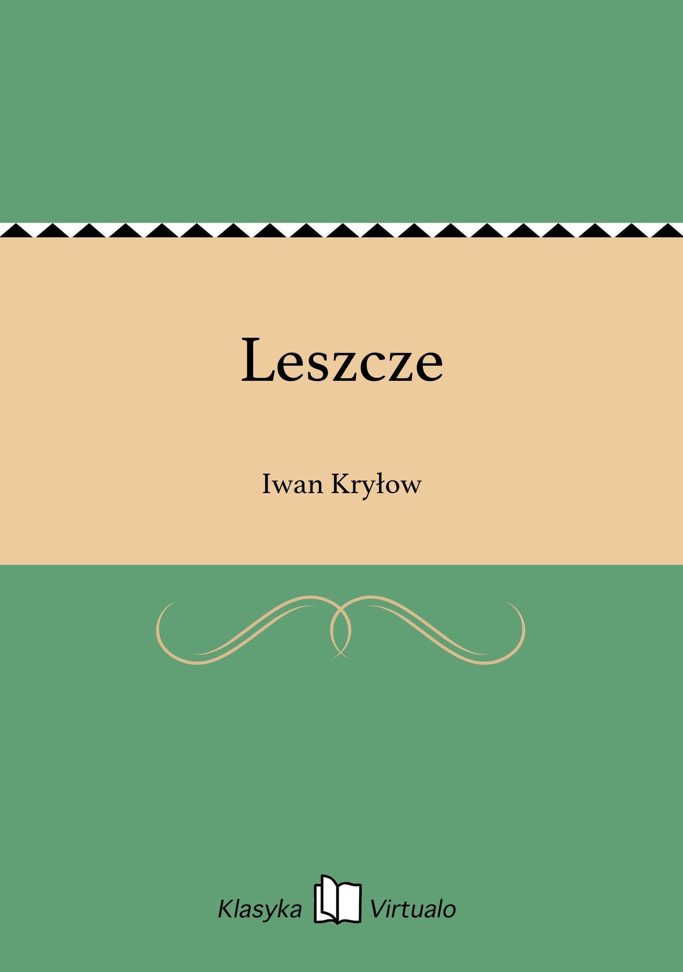 Leszcze - Ebook (Książka EPUB) do pobrania w formacie EPUB