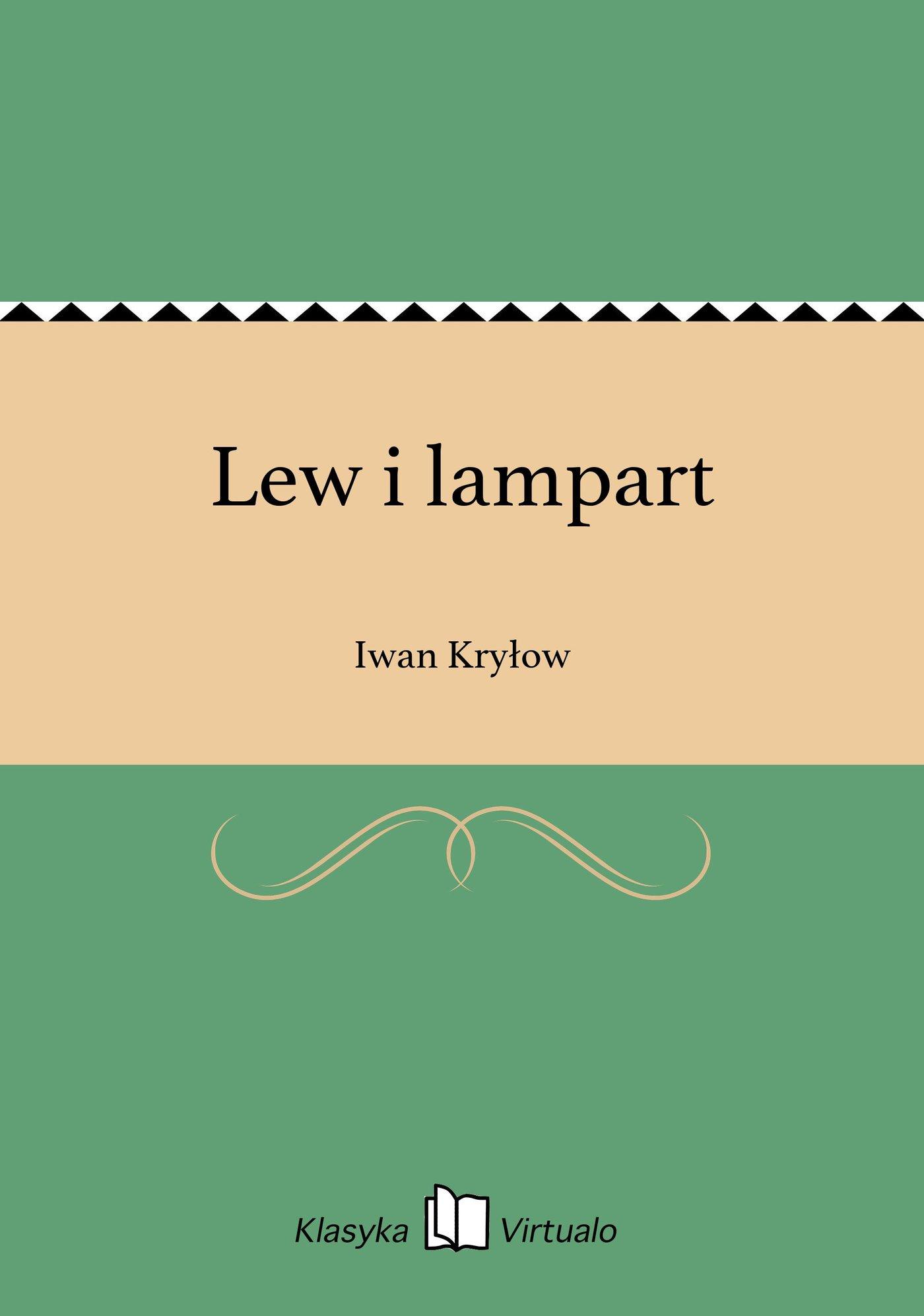 Lew i lampart - Ebook (Książka EPUB) do pobrania w formacie EPUB