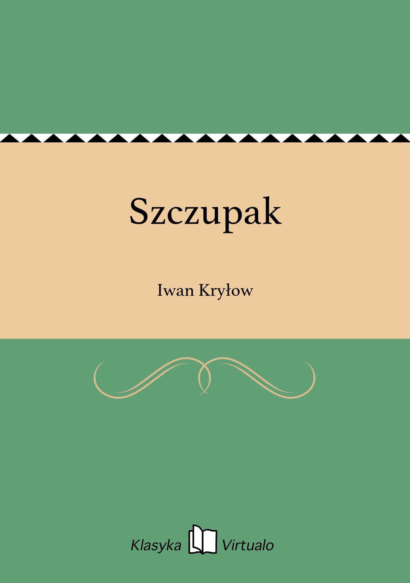 Szczupak - Ebook (Książka EPUB) do pobrania w formacie EPUB