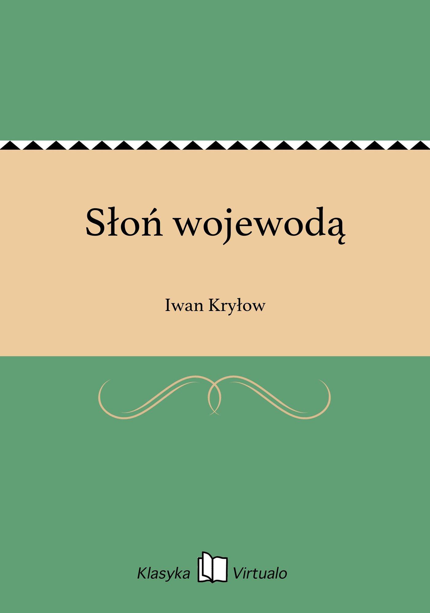 Słoń wojewodą - Ebook (Książka EPUB) do pobrania w formacie EPUB