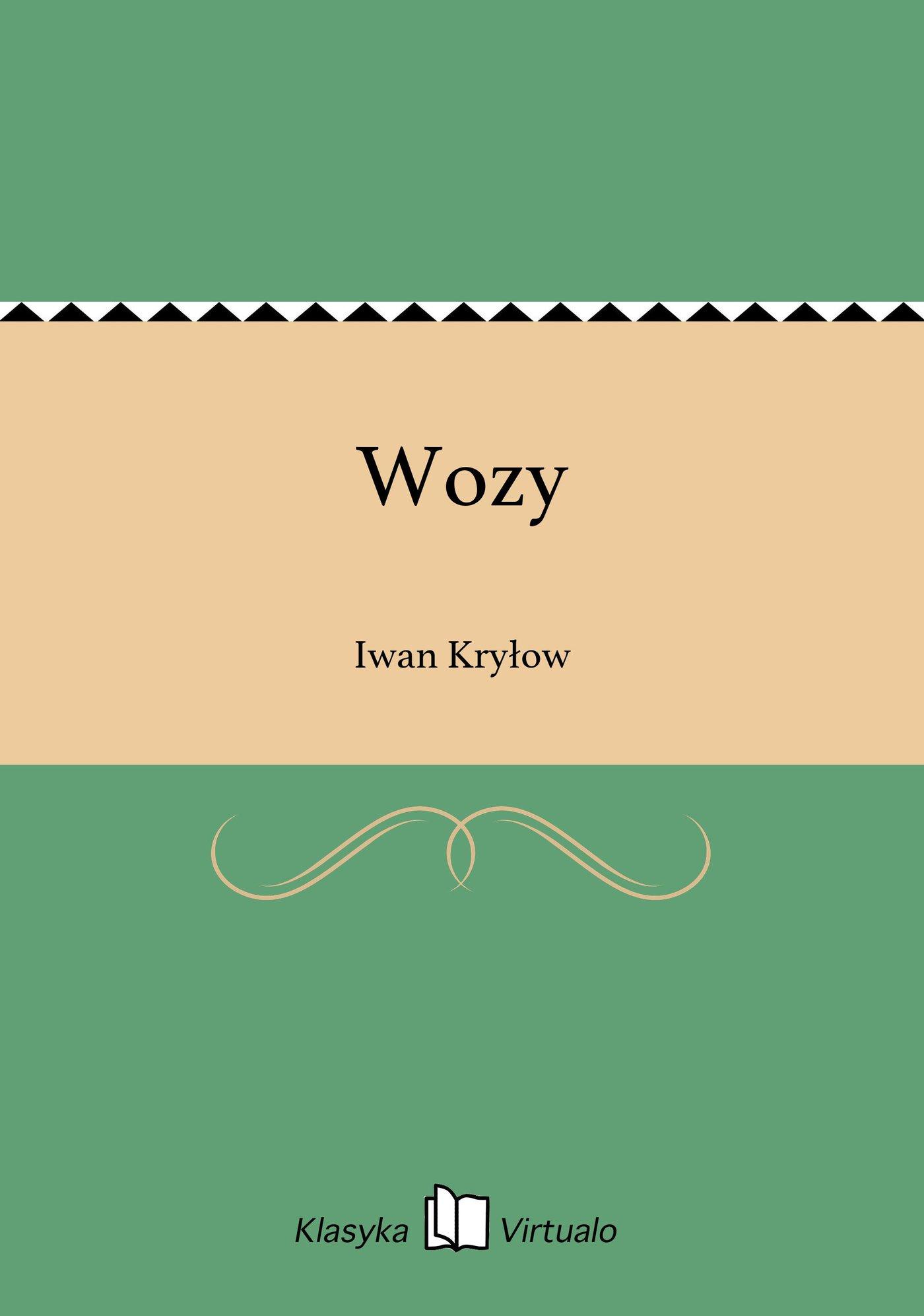 Wozy - Ebook (Książka EPUB) do pobrania w formacie EPUB