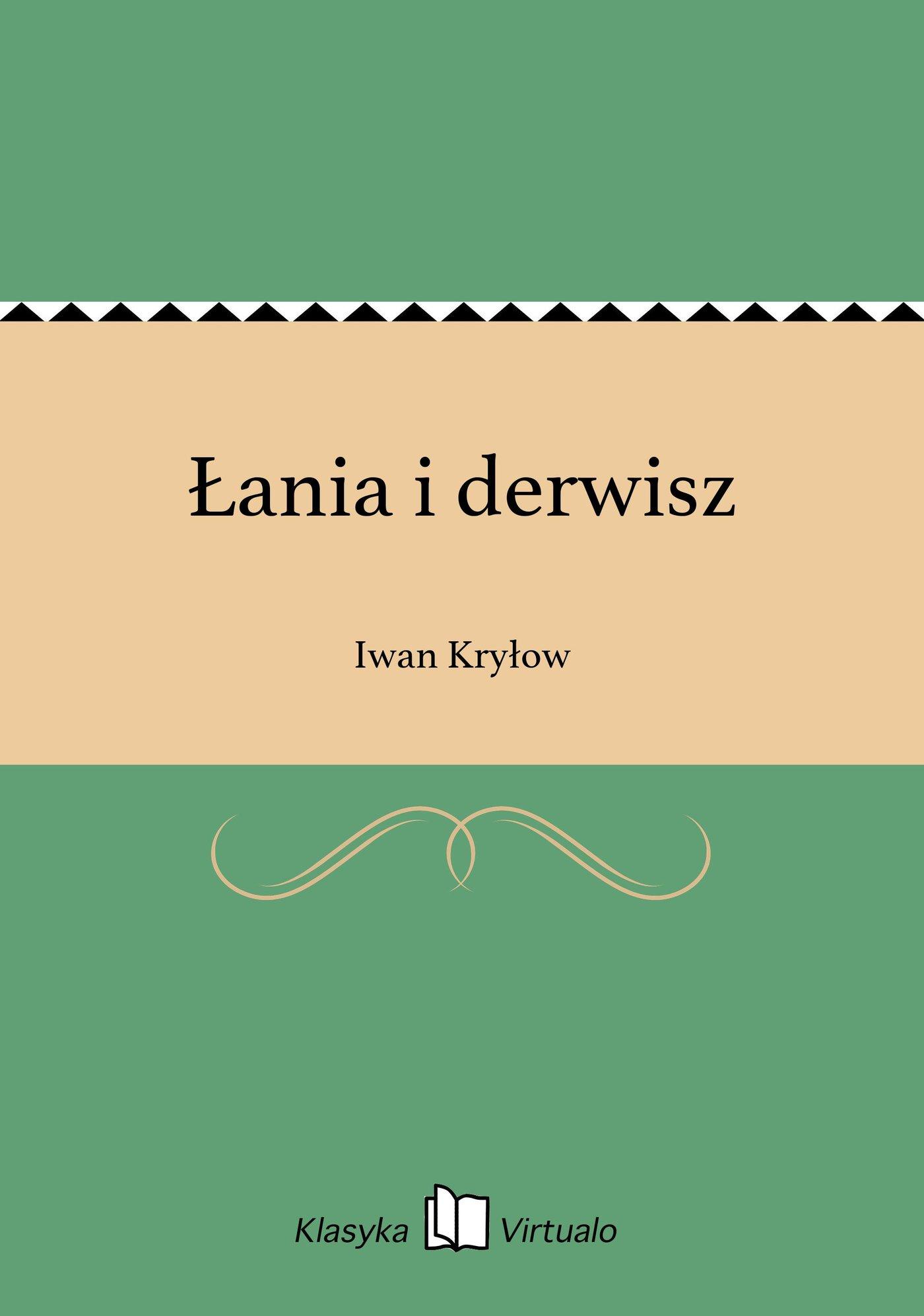 Łania i derwisz - Ebook (Książka EPUB) do pobrania w formacie EPUB