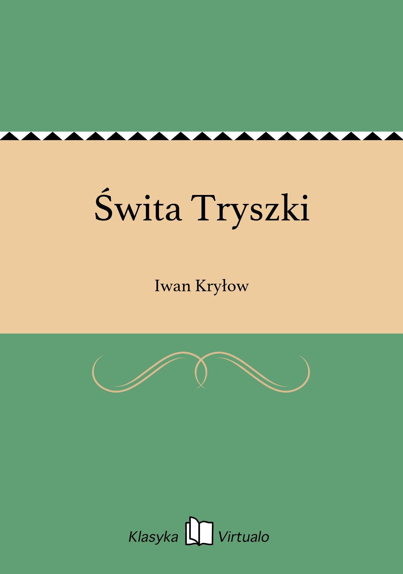 Świta Tryszki - Ebook (Książka EPUB) do pobrania w formacie EPUB