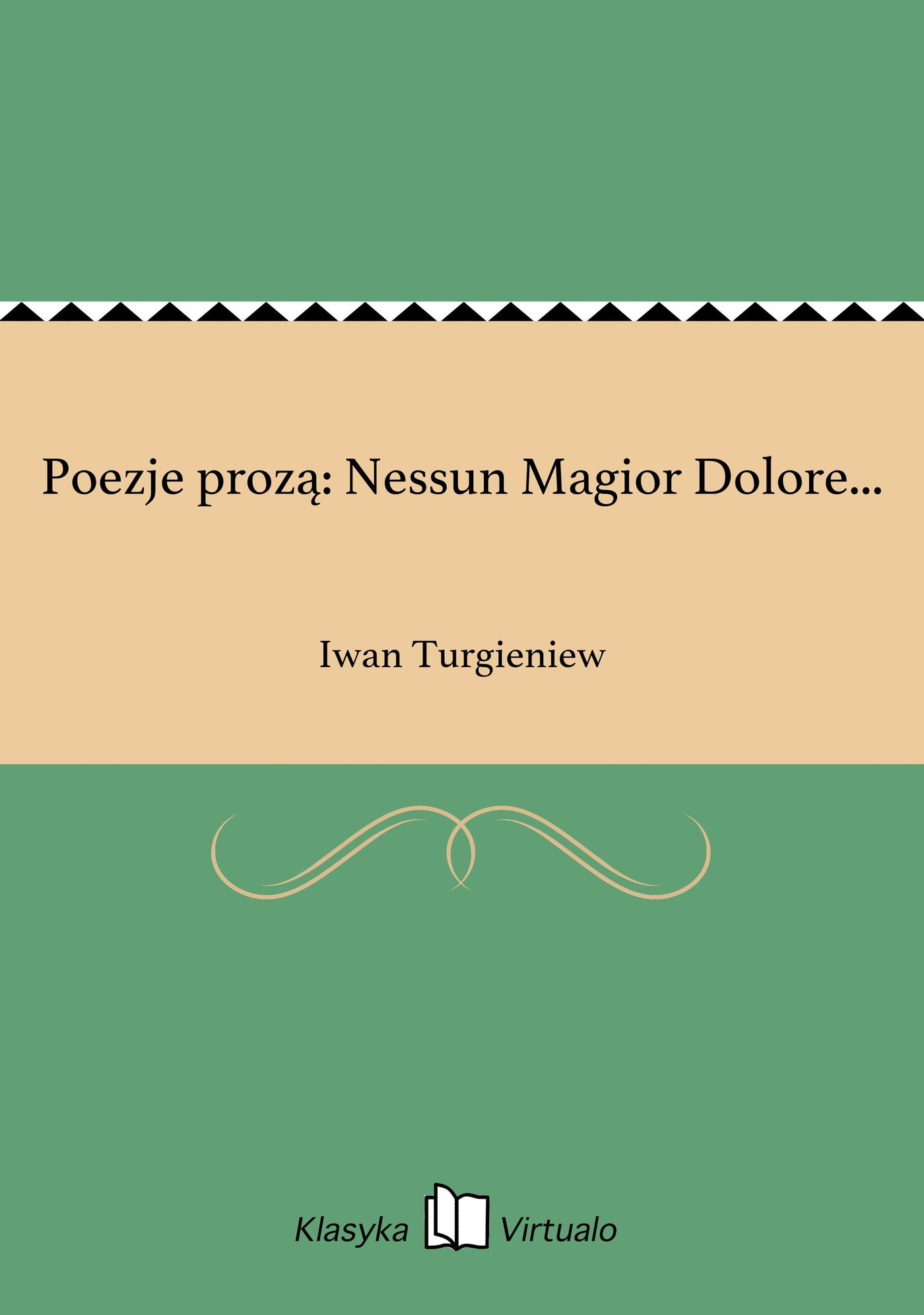 Poezje prozą: Nessun Magior Dolore... - Ebook (Książka EPUB) do pobrania w formacie EPUB
