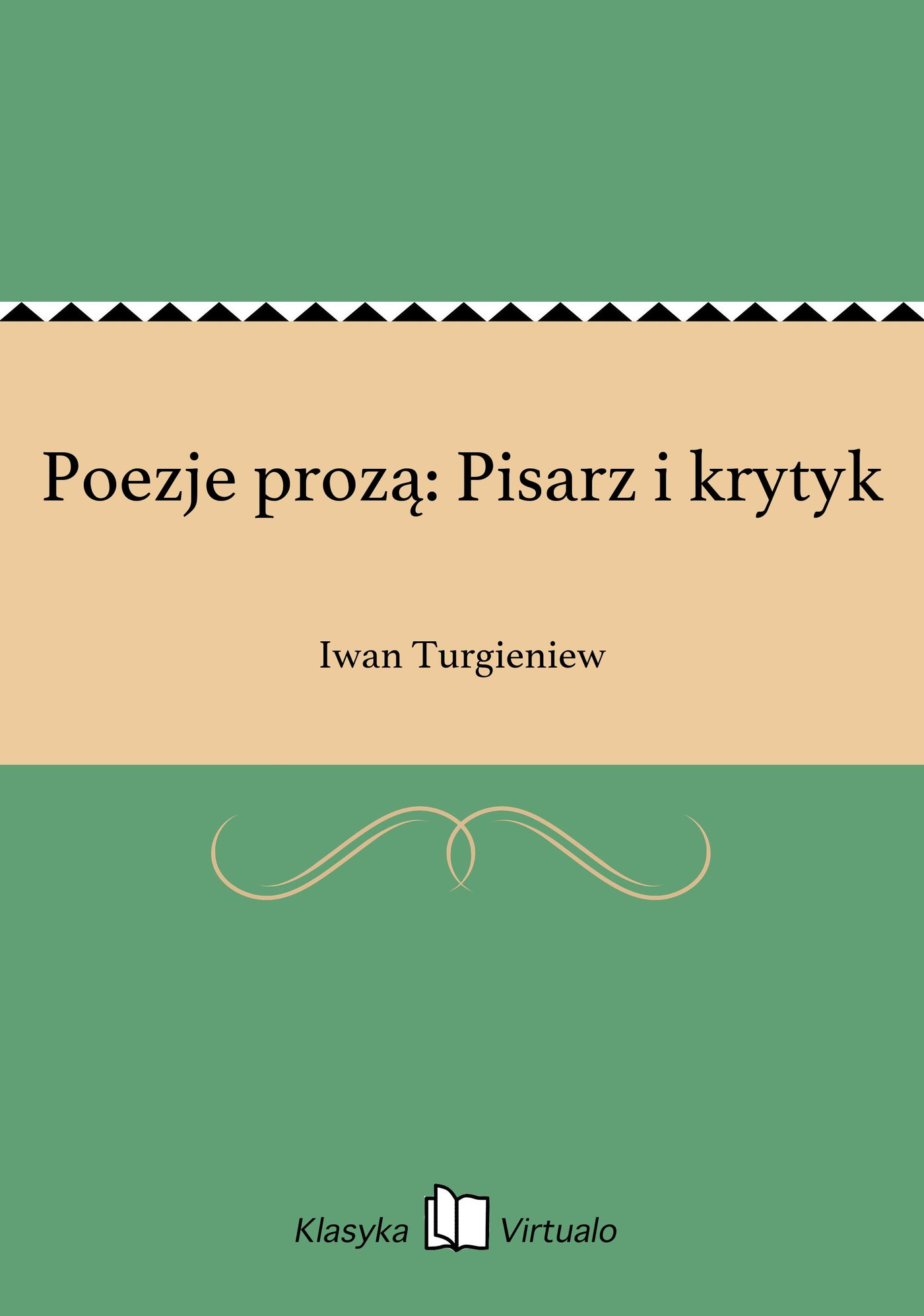 Poezje prozą: Pisarz i krytyk - Ebook (Książka EPUB) do pobrania w formacie EPUB