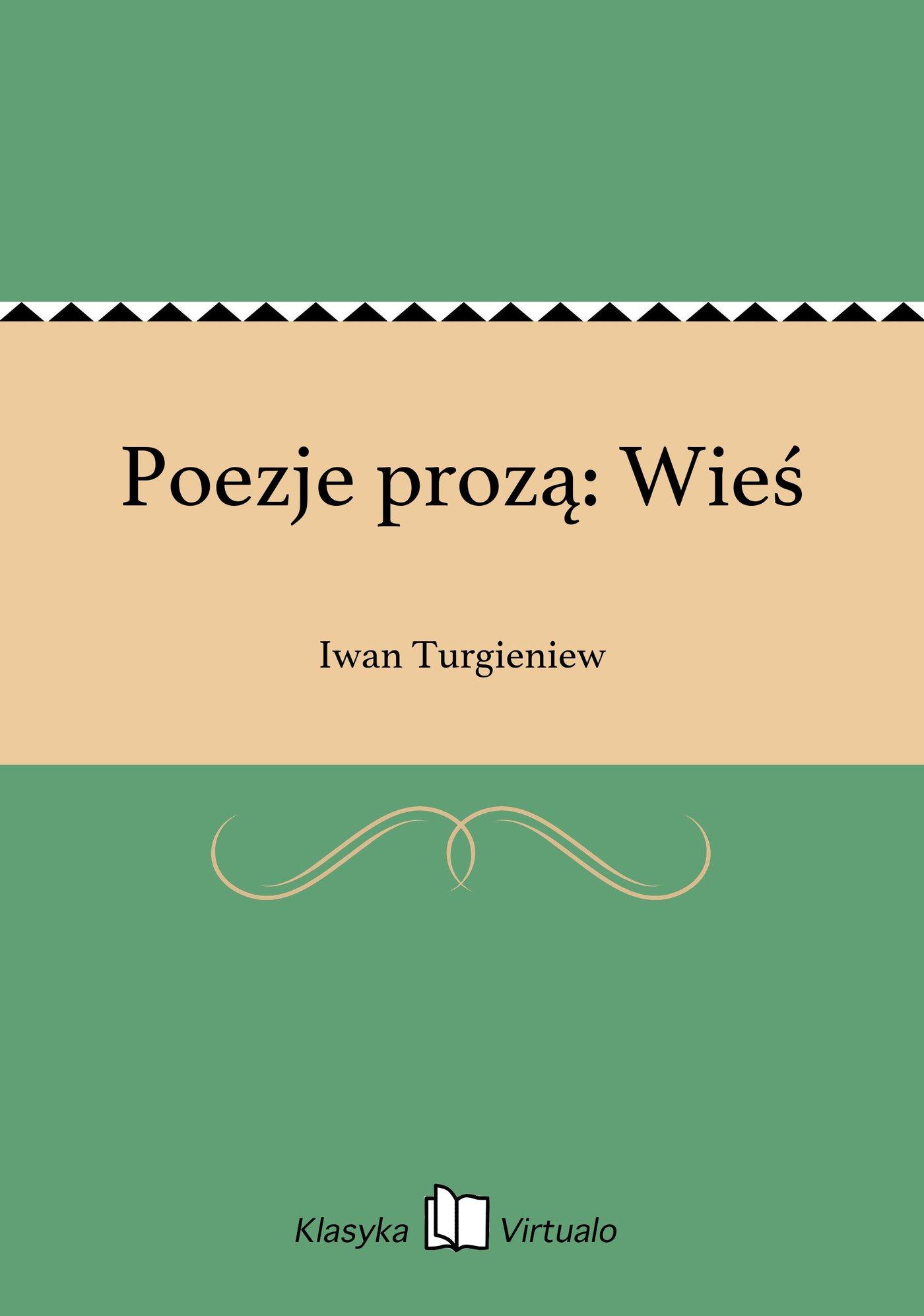 Poezje prozą: Wieś - Ebook (Książka EPUB) do pobrania w formacie EPUB