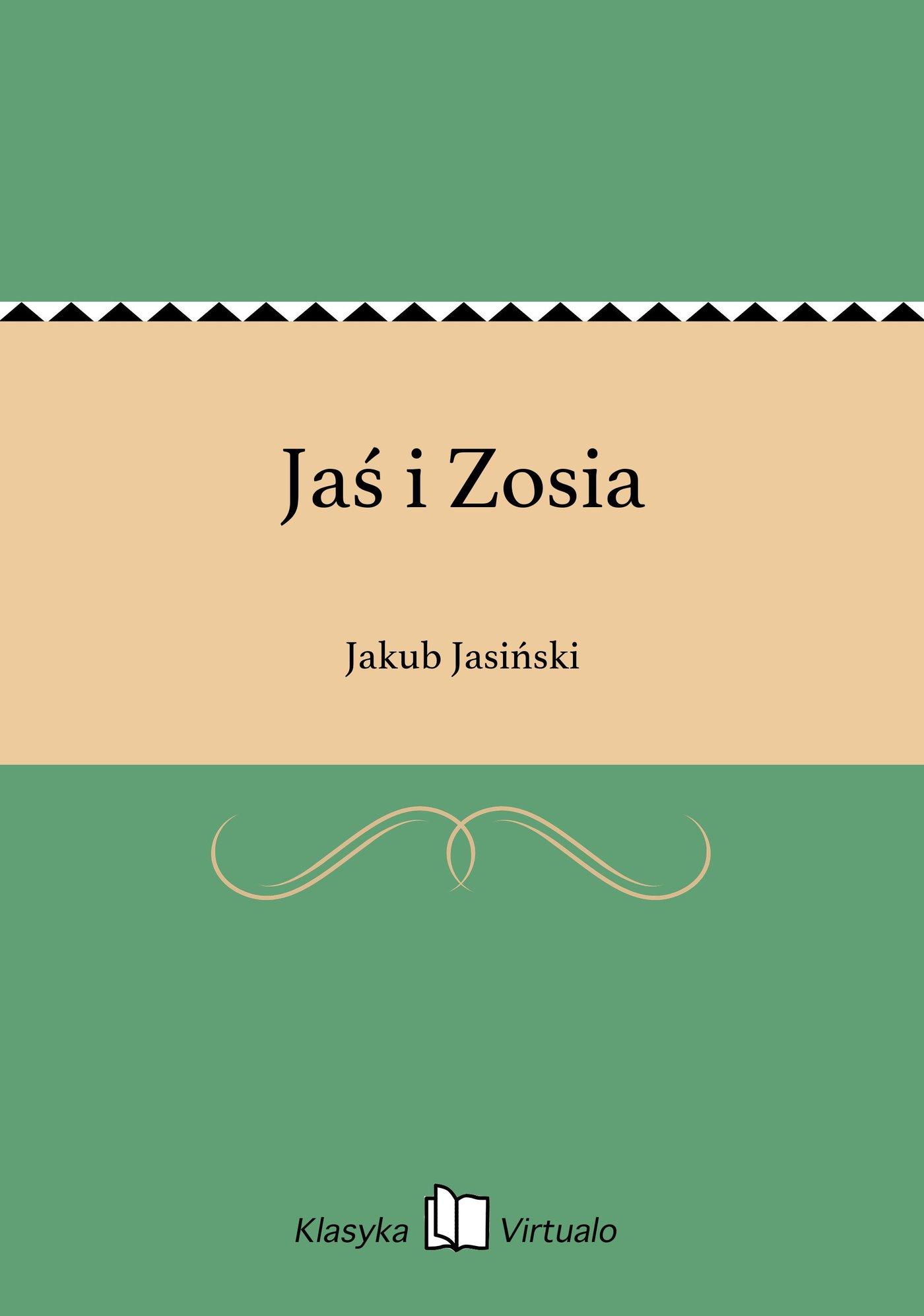 Jaś i Zosia - Ebook (Książka EPUB) do pobrania w formacie EPUB