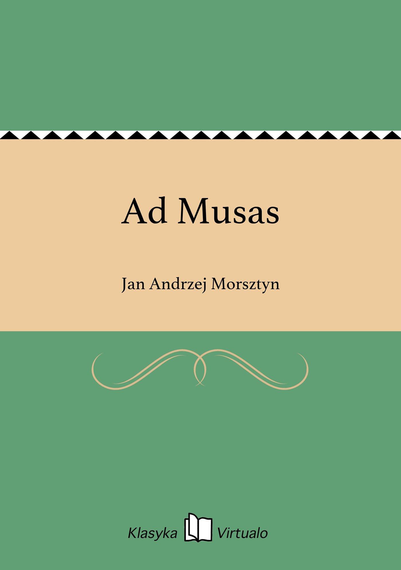 Ad Musas - Ebook (Książka EPUB) do pobrania w formacie EPUB