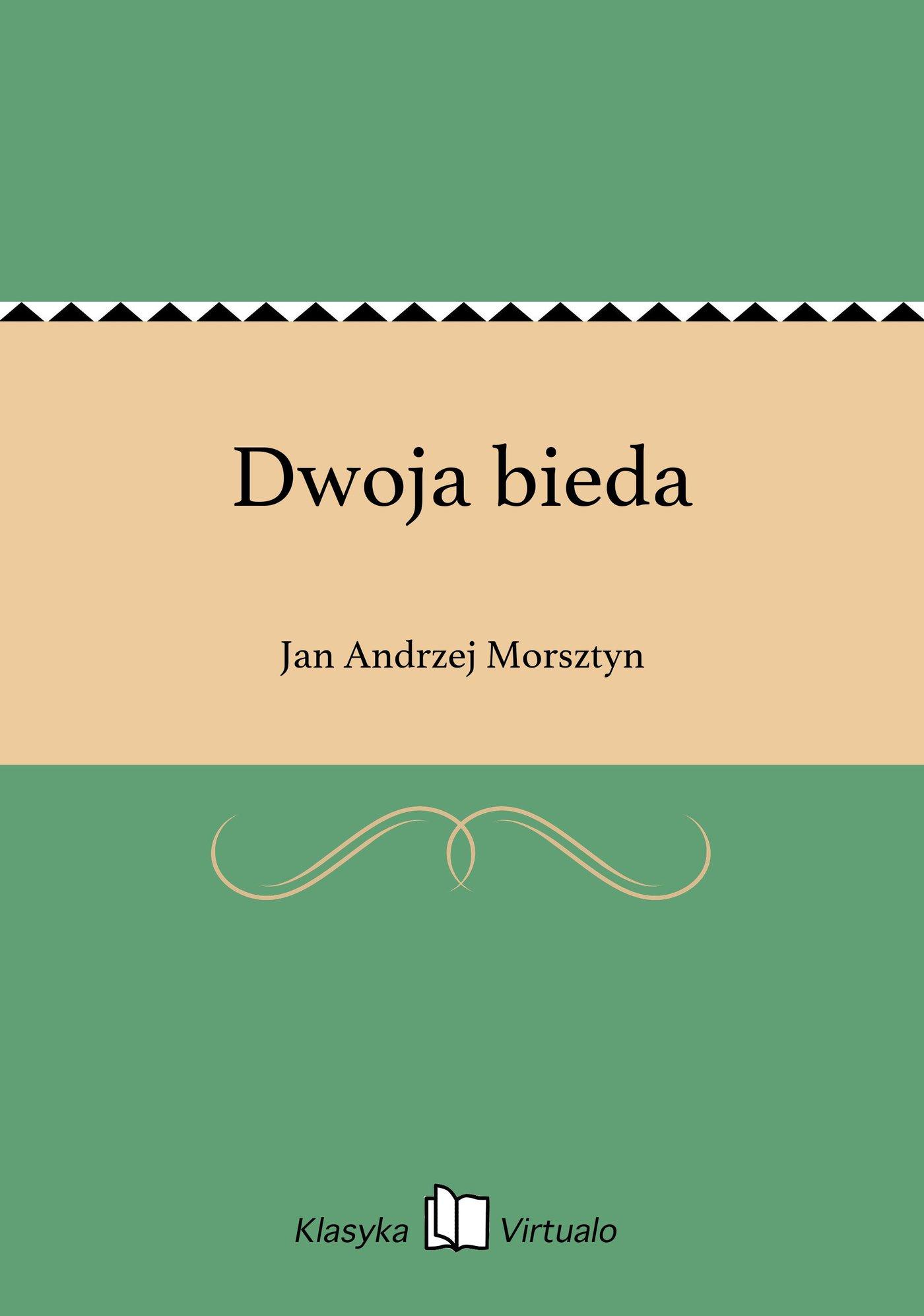Dwoja bieda - Ebook (Książka EPUB) do pobrania w formacie EPUB