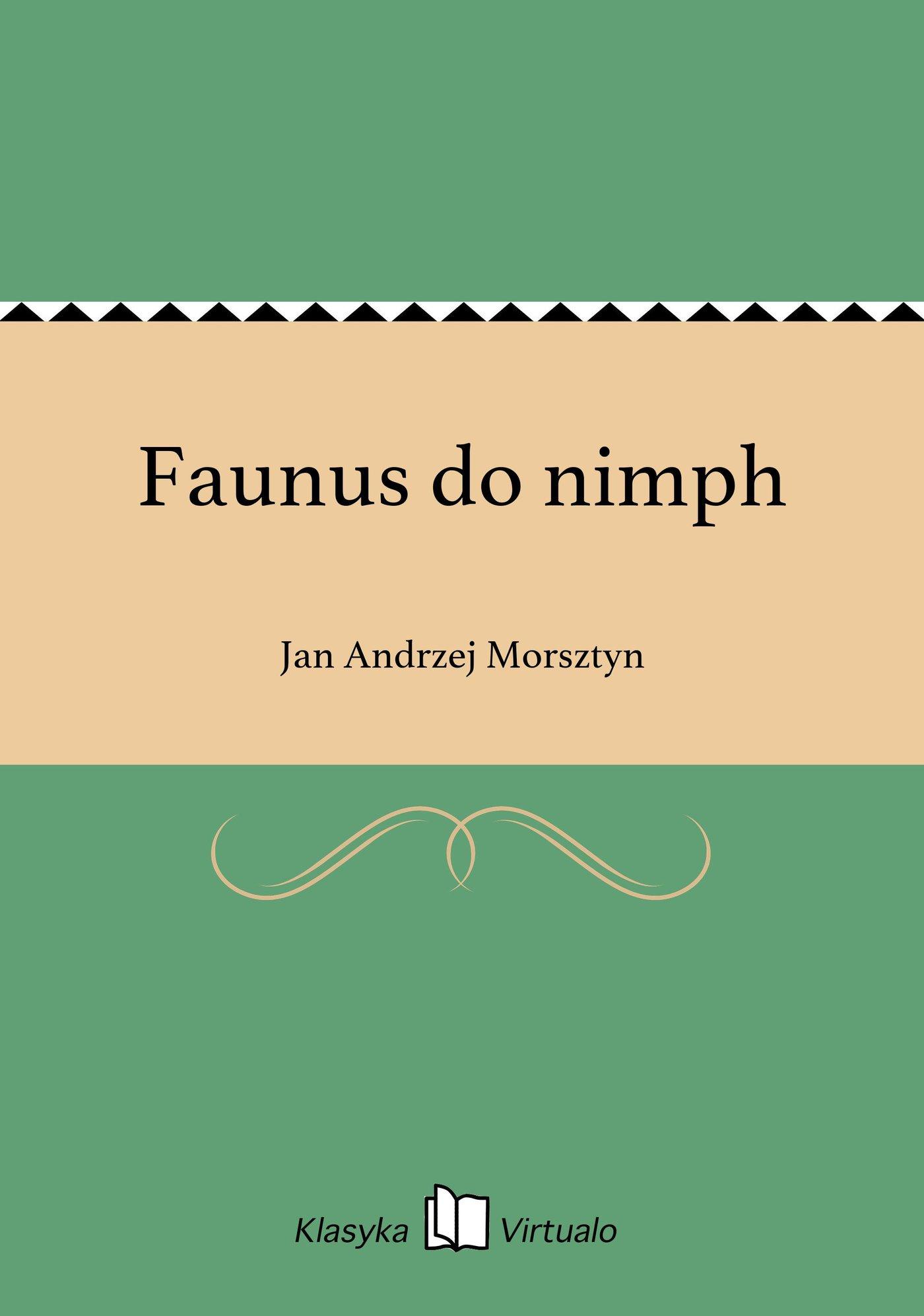 Faunus do nimph - Ebook (Książka EPUB) do pobrania w formacie EPUB