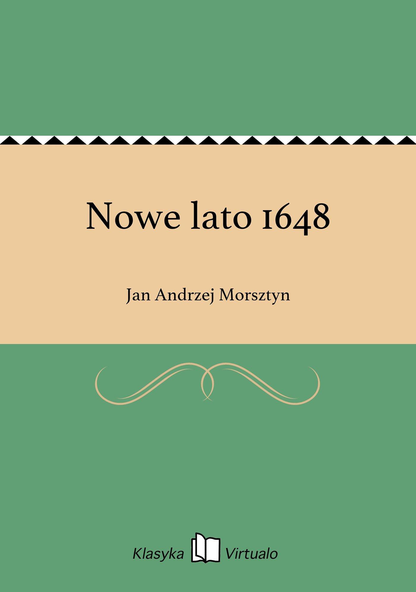 Nowe lato 1648 - Ebook (Książka EPUB) do pobrania w formacie EPUB