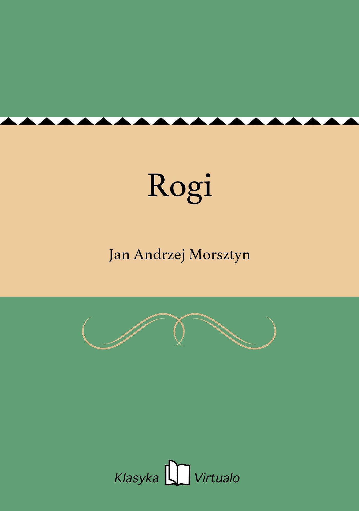 Rogi - Ebook (Książka EPUB) do pobrania w formacie EPUB