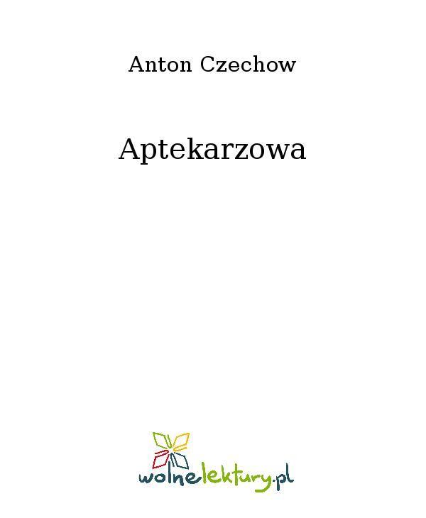 Aptekarzowa - Ebook (Książka EPUB) do pobrania w formacie EPUB