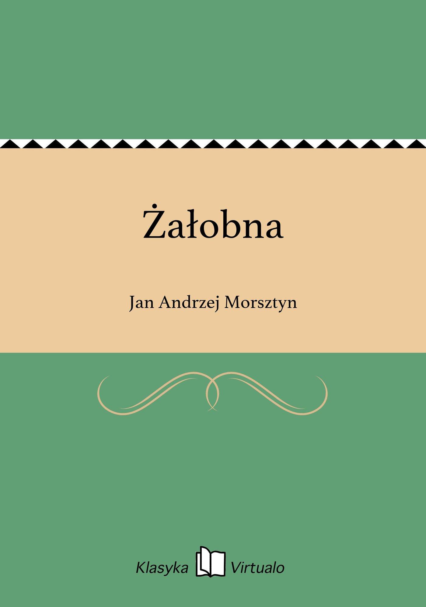 Żałobna - Ebook (Książka EPUB) do pobrania w formacie EPUB