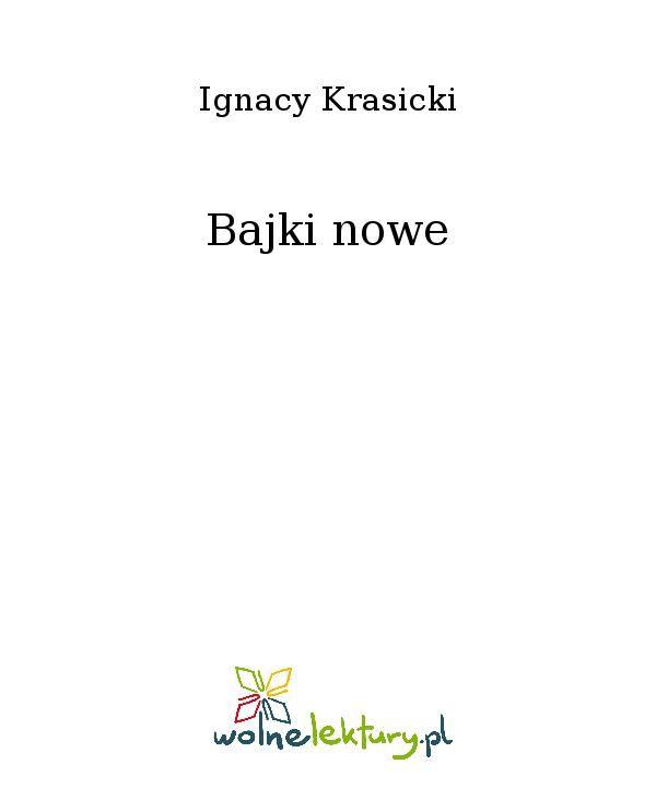 Bajki nowe - Ebook (Książka EPUB) do pobrania w formacie EPUB