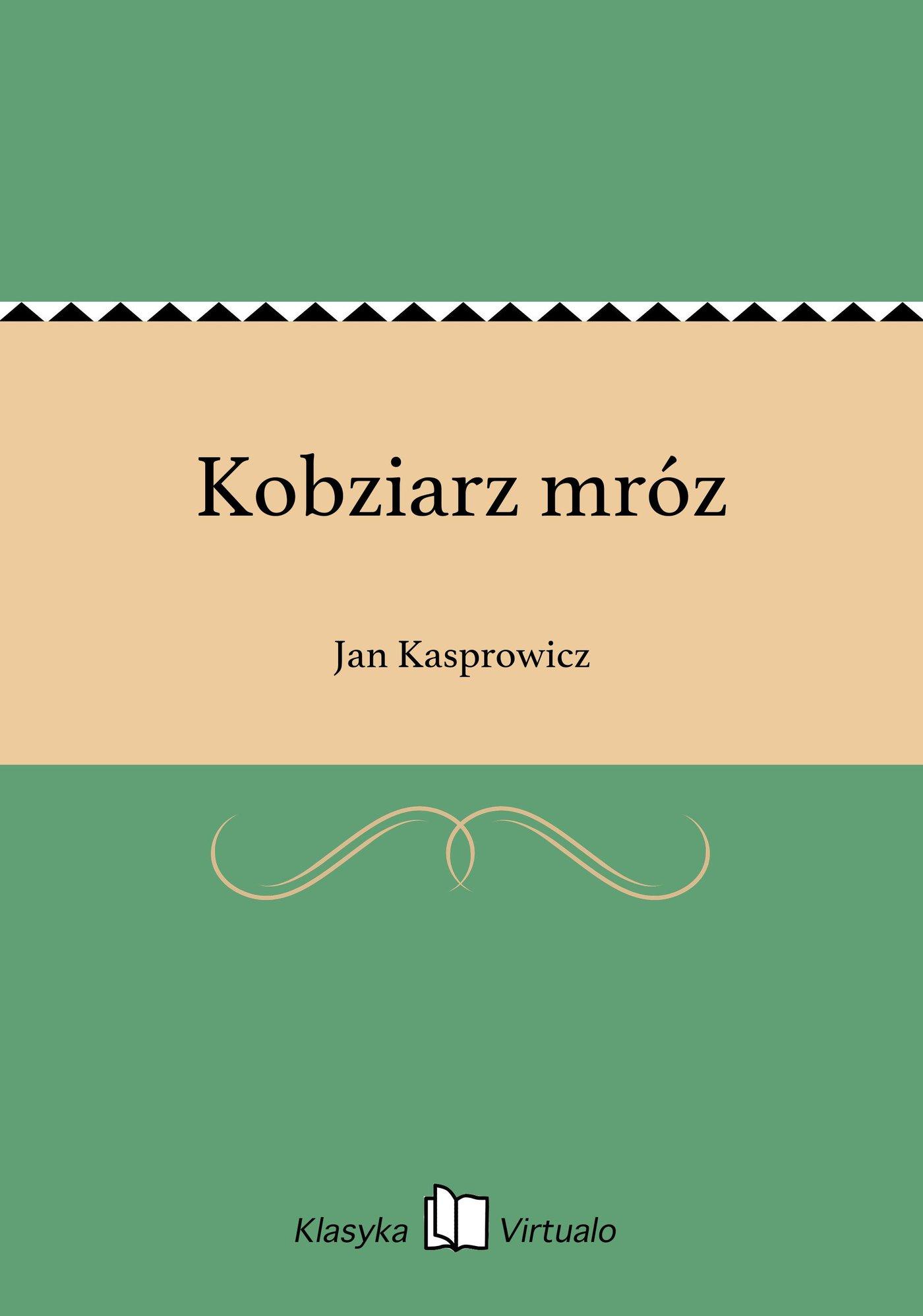 Kobziarz mróz - Ebook (Książka EPUB) do pobrania w formacie EPUB