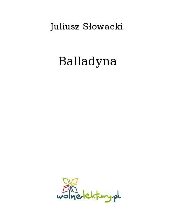 Balladyna - Ebook (Książka EPUB) do pobrania w formacie EPUB