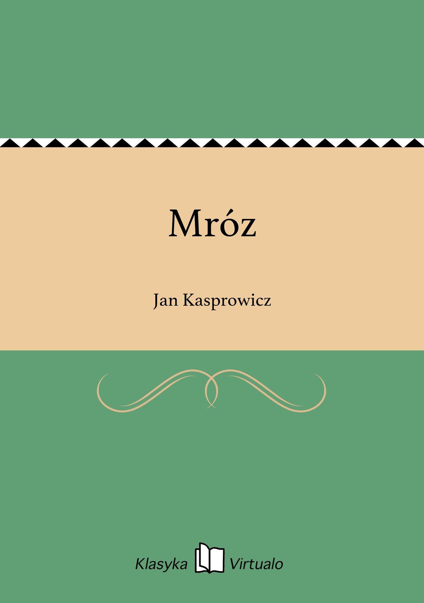 Mróz - Ebook (Książka EPUB) do pobrania w formacie EPUB