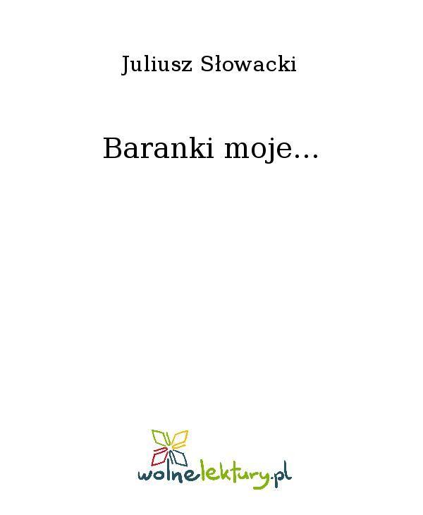 Baranki moje... - Ebook (Książka EPUB) do pobrania w formacie EPUB