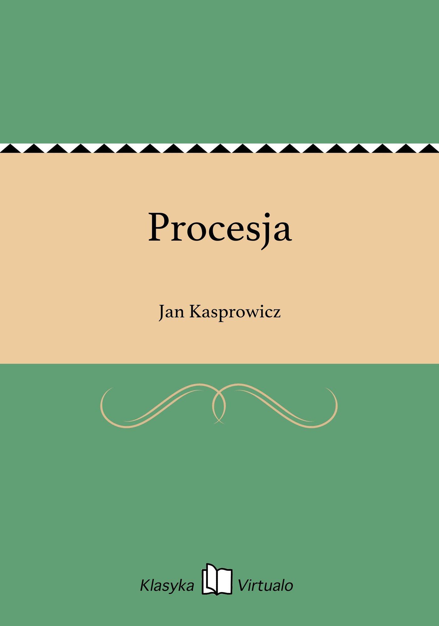 Procesja - Ebook (Książka EPUB) do pobrania w formacie EPUB