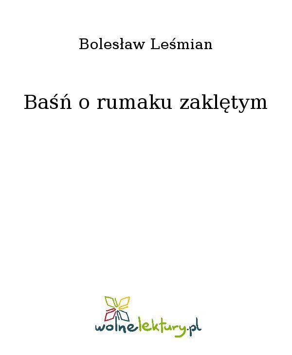 Baśń o rumaku zaklętym - Ebook (Książka EPUB) do pobrania w formacie EPUB