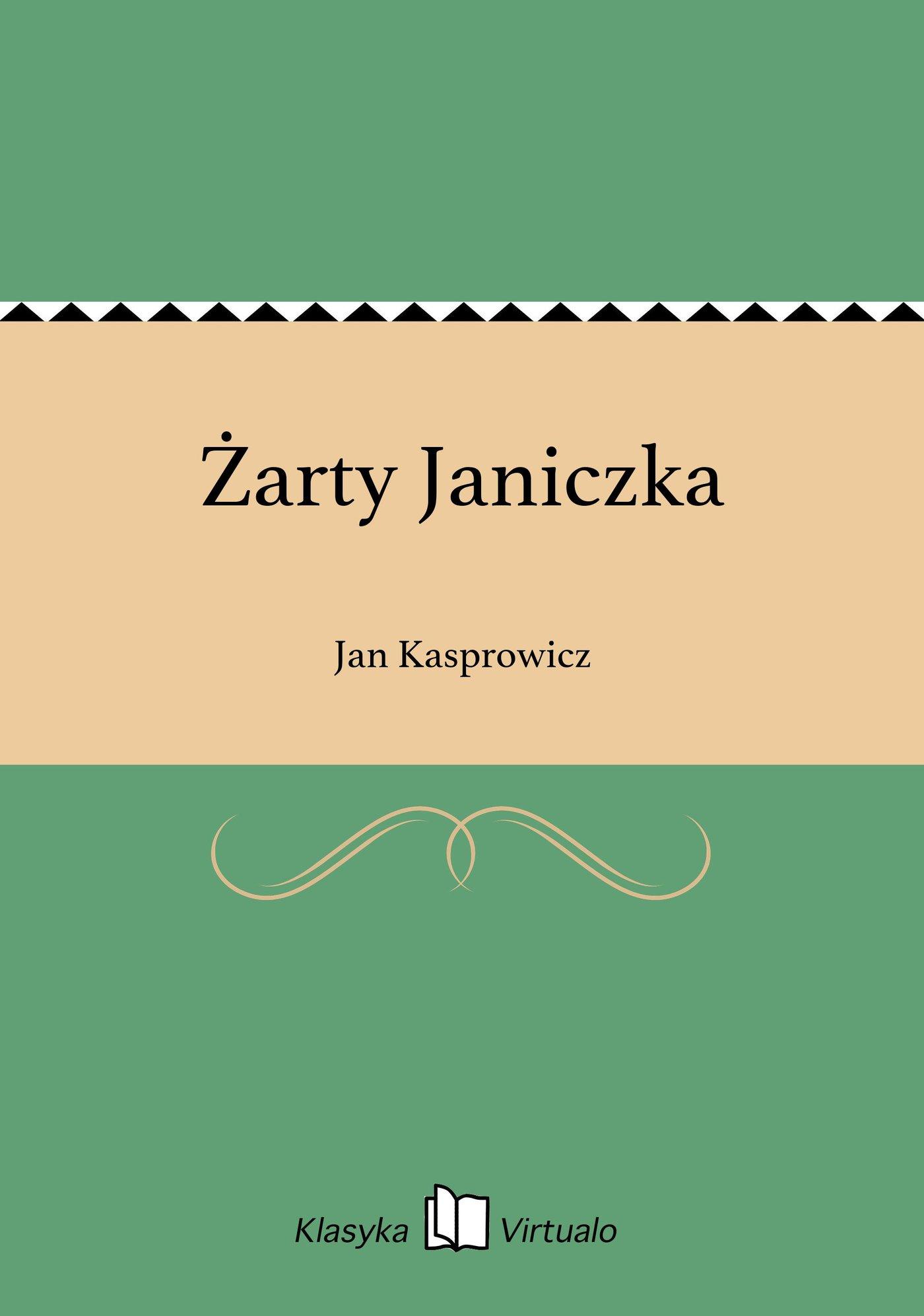 Żarty Janiczka - Ebook (Książka EPUB) do pobrania w formacie EPUB
