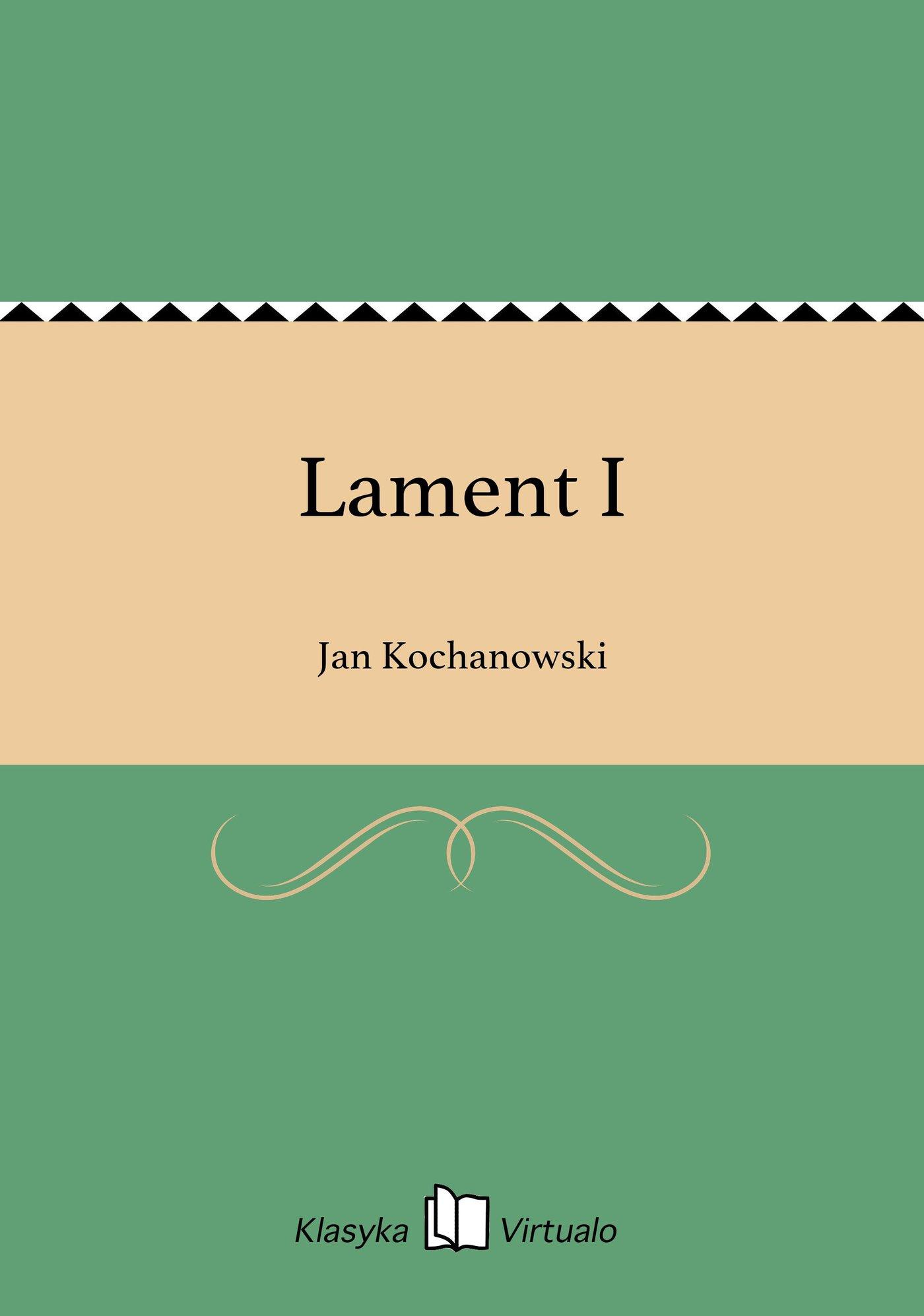 Lament I - Ebook (Książka EPUB) do pobrania w formacie EPUB