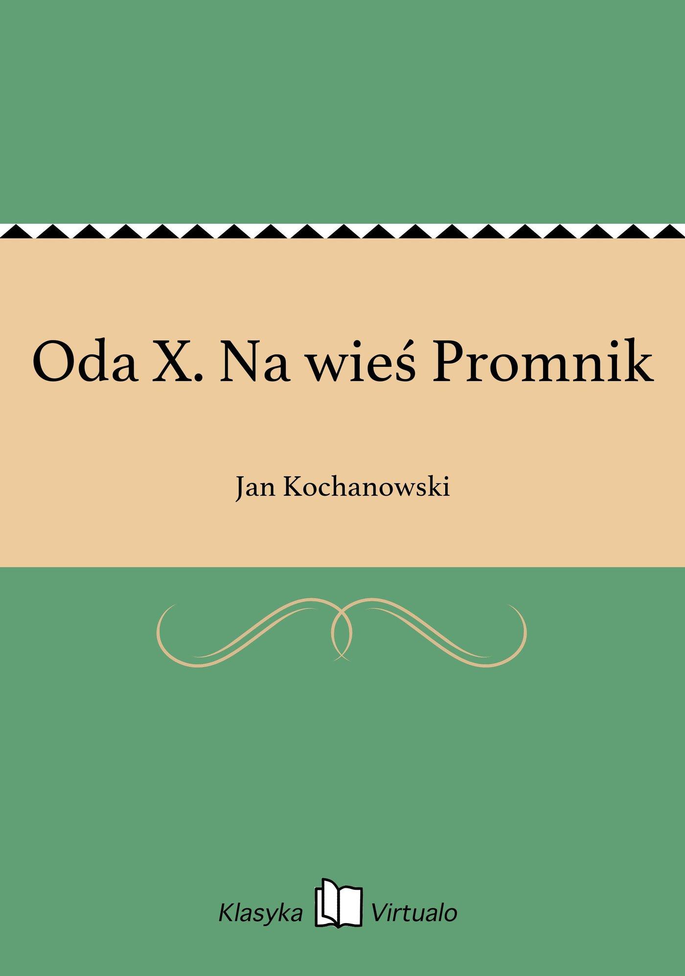 Oda X. Na wieś Promnik - Ebook (Książka EPUB) do pobrania w formacie EPUB