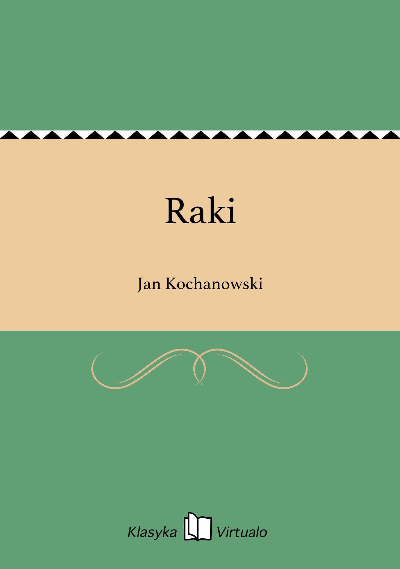 Raki - Ebook (Książka EPUB) do pobrania w formacie EPUB