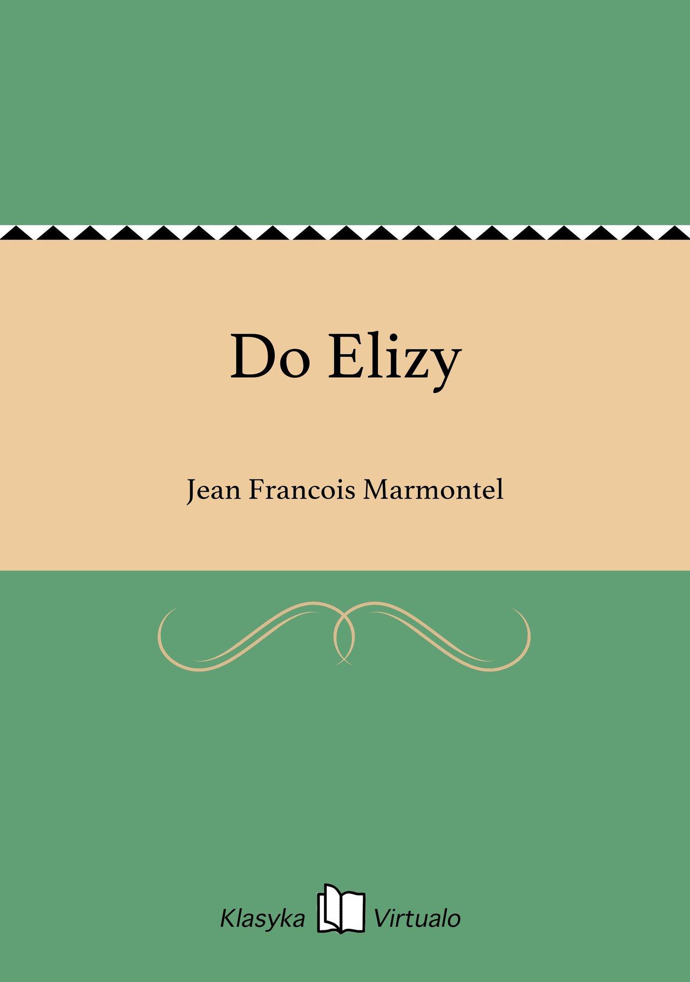 Do Elizy - Ebook (Książka EPUB) do pobrania w formacie EPUB