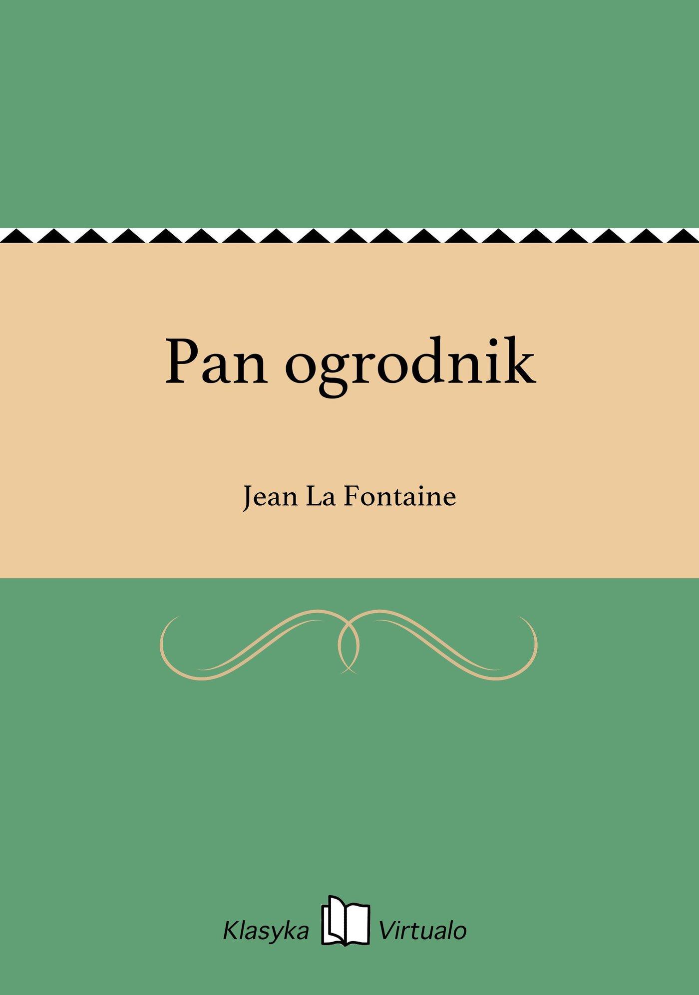 Pan ogrodnik - Ebook (Książka EPUB) do pobrania w formacie EPUB