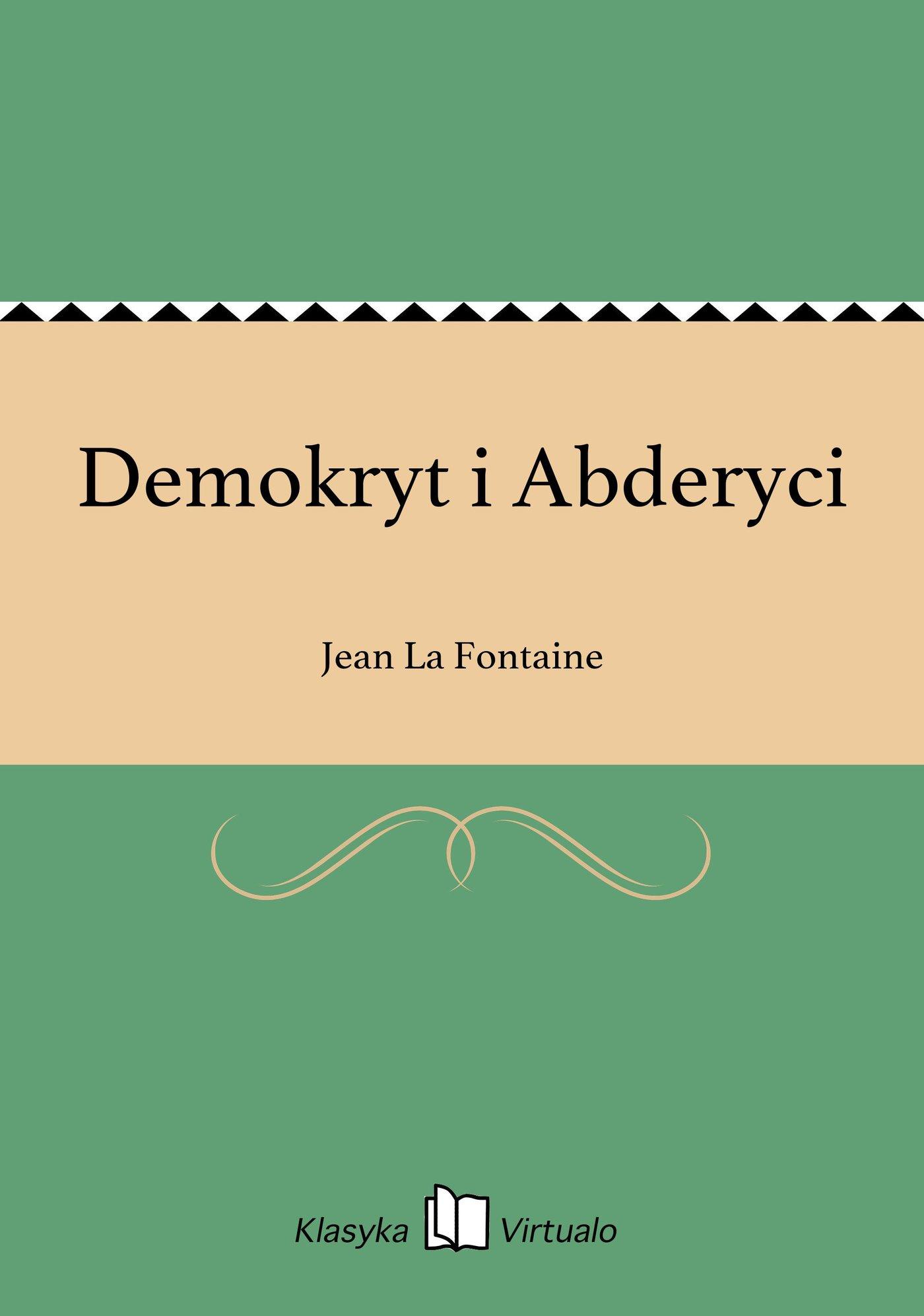 Demokryt i Abderyci - Ebook (Książka EPUB) do pobrania w formacie EPUB