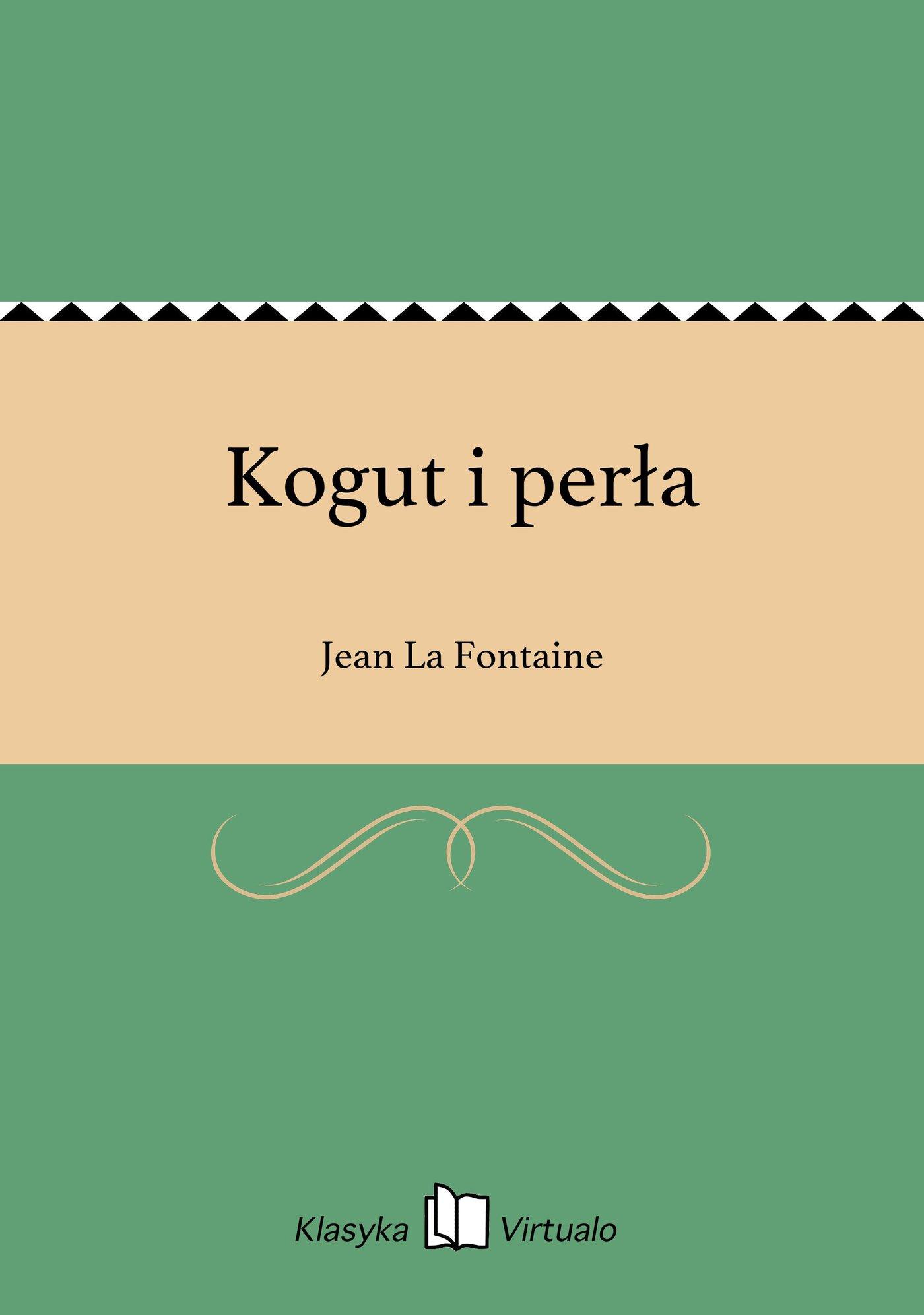 Kogut i perła - Ebook (Książka EPUB) do pobrania w formacie EPUB