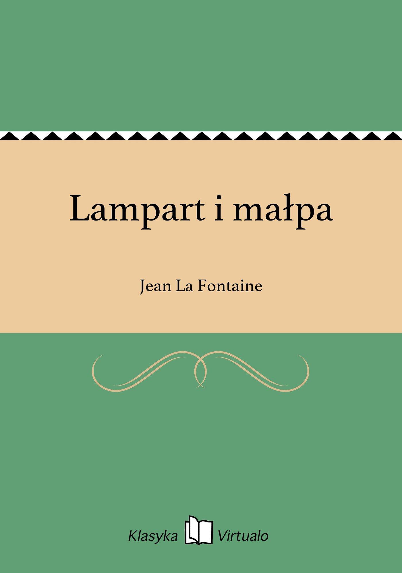 Lampart i małpa - Ebook (Książka EPUB) do pobrania w formacie EPUB