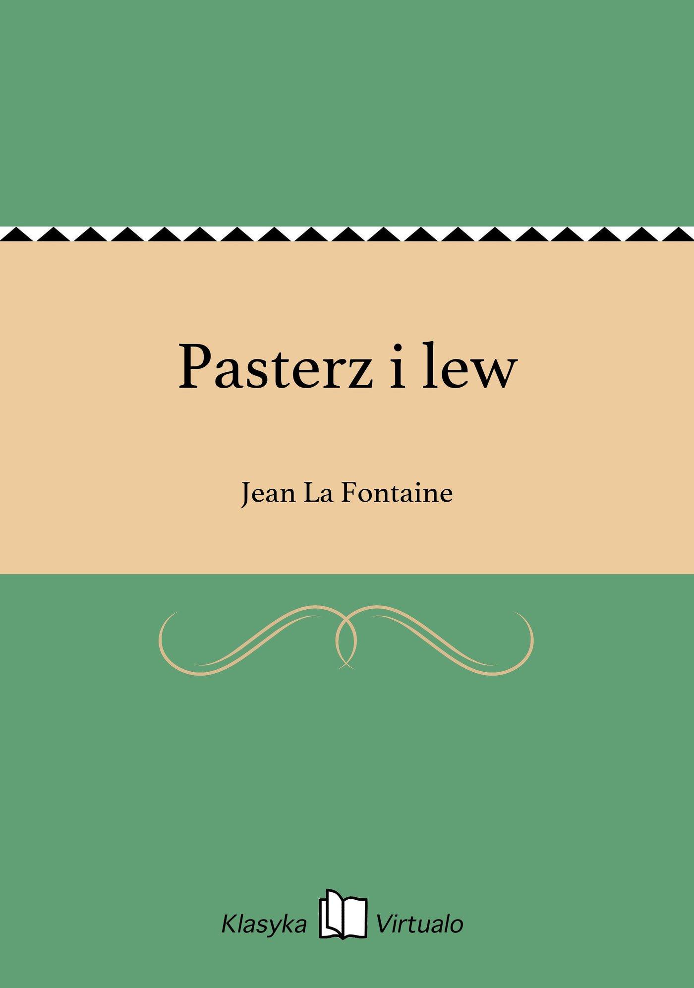 Pasterz i lew - Ebook (Książka EPUB) do pobrania w formacie EPUB