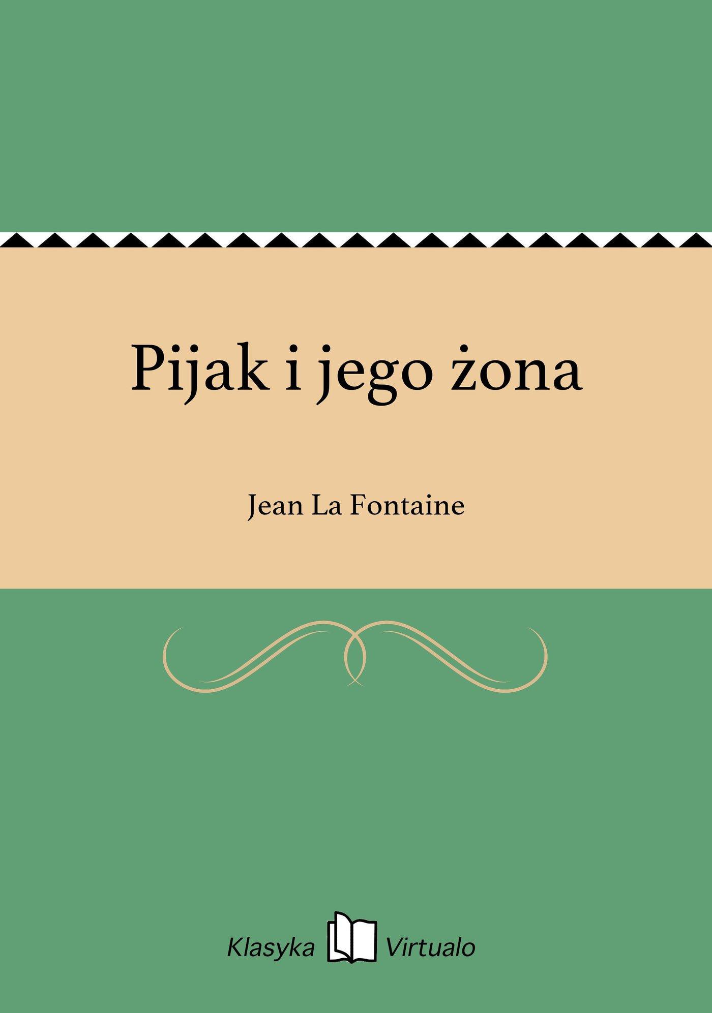 Pijak i jego żona - Ebook (Książka EPUB) do pobrania w formacie EPUB