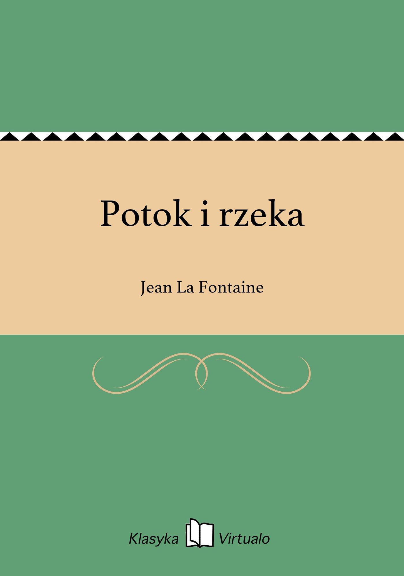 Potok i rzeka - Ebook (Książka EPUB) do pobrania w formacie EPUB