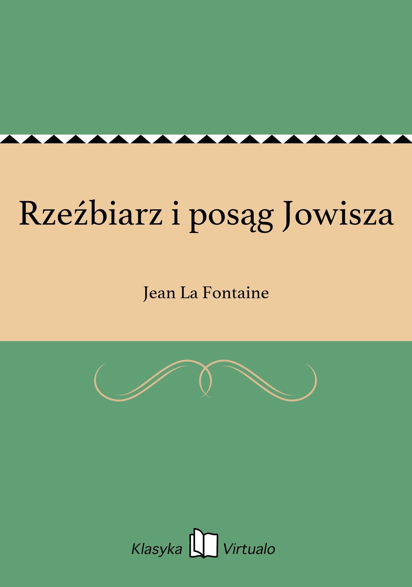 Rzeźbiarz i posąg Jowisza - Ebook (Książka EPUB) do pobrania w formacie EPUB
