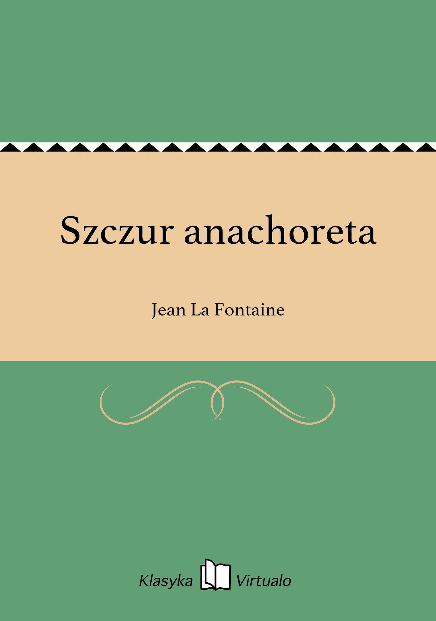 Szczur anachoreta - Ebook (Książka EPUB) do pobrania w formacie EPUB