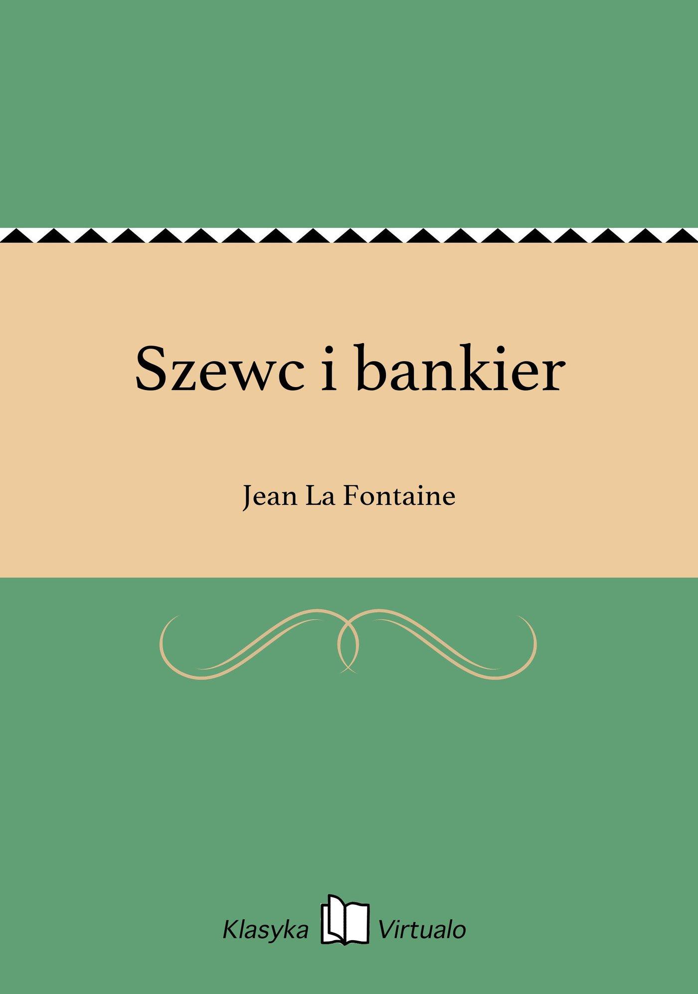 Szewc i bankier - Ebook (Książka EPUB) do pobrania w formacie EPUB