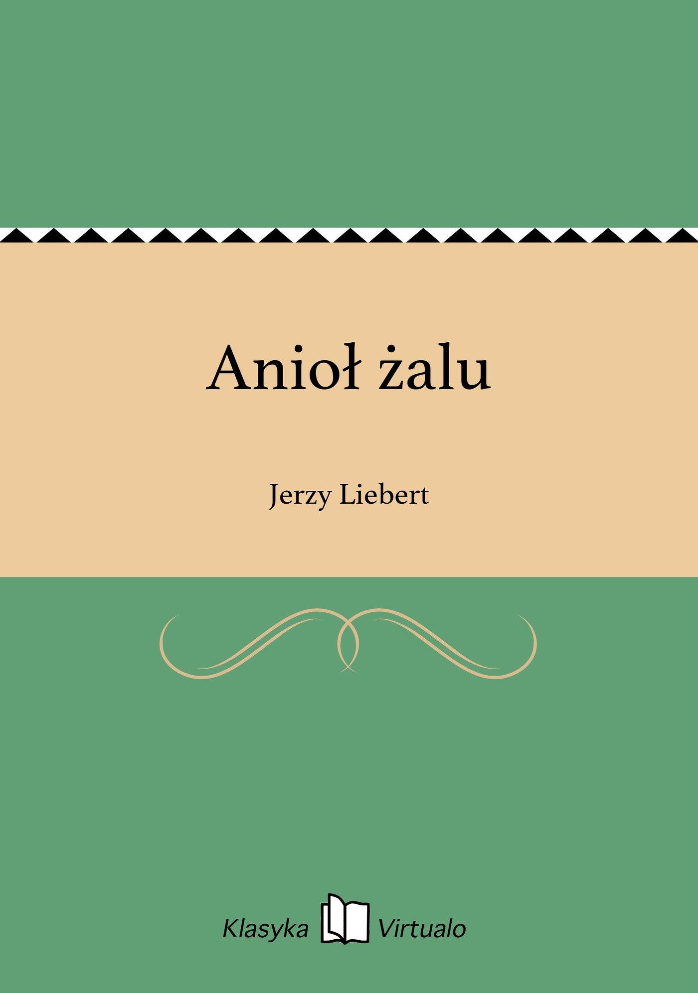 Anioł żalu - Ebook (Książka EPUB) do pobrania w formacie EPUB