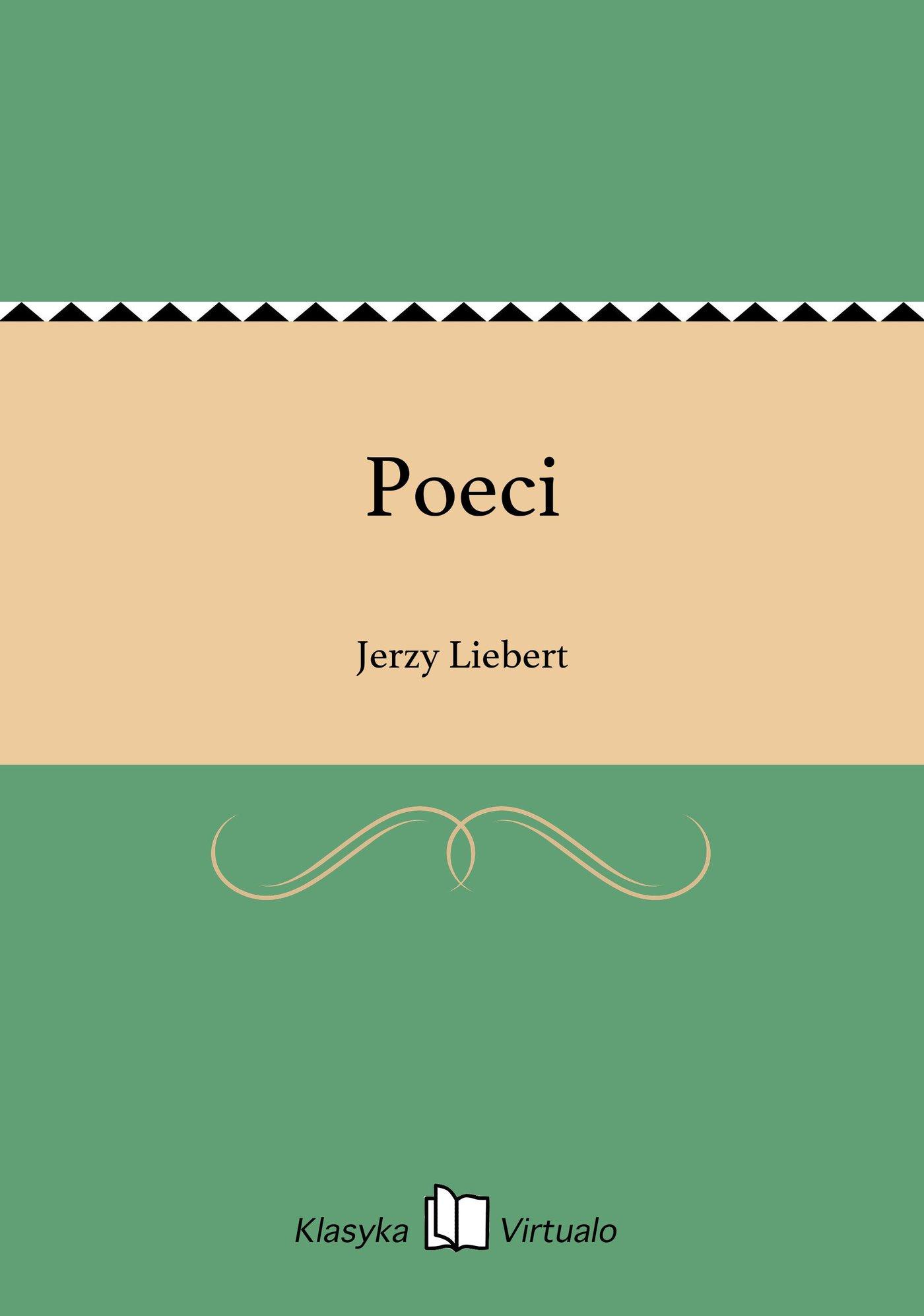 Poeci - Ebook (Książka EPUB) do pobrania w formacie EPUB