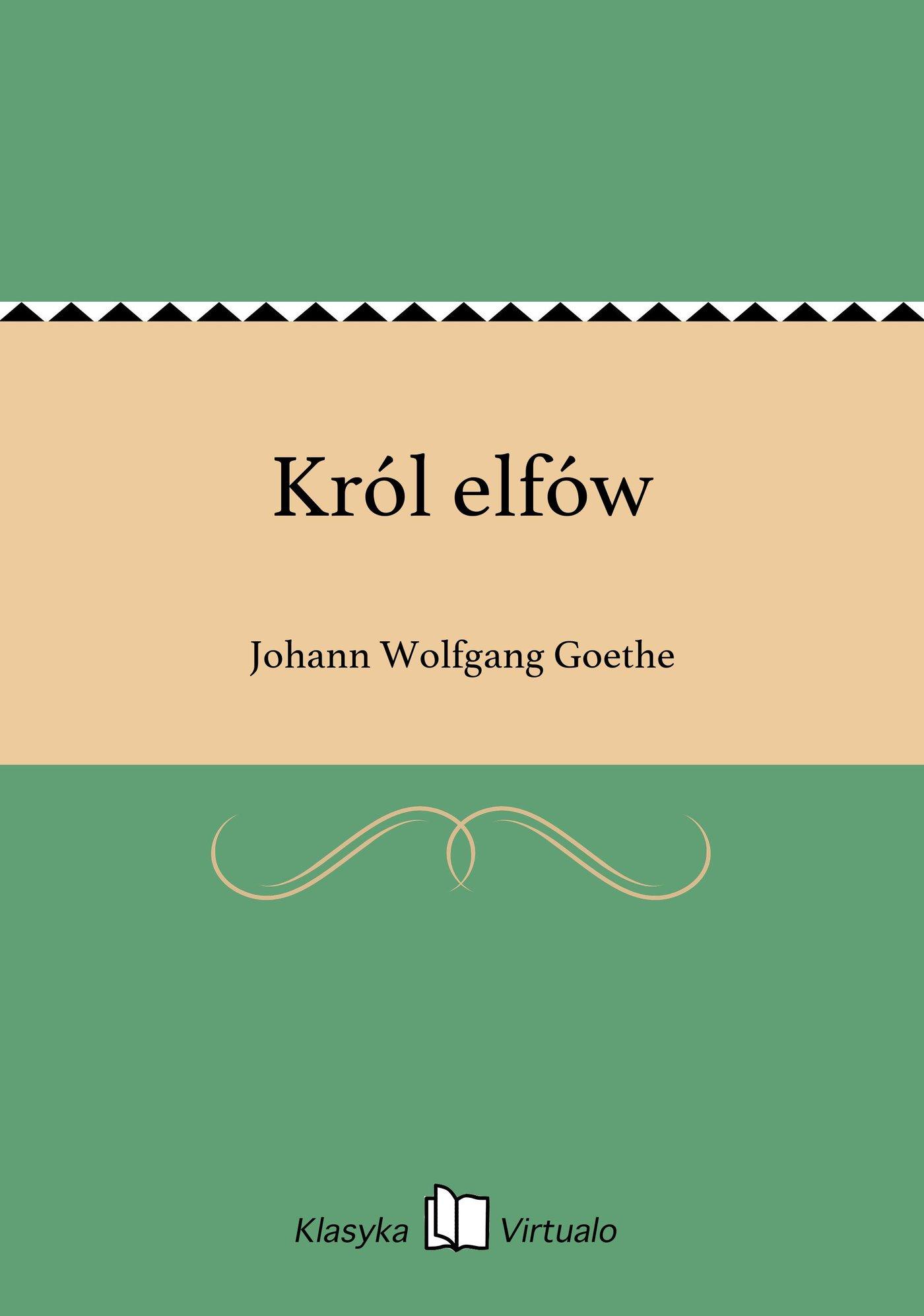 Król elfów - Ebook (Książka EPUB) do pobrania w formacie EPUB