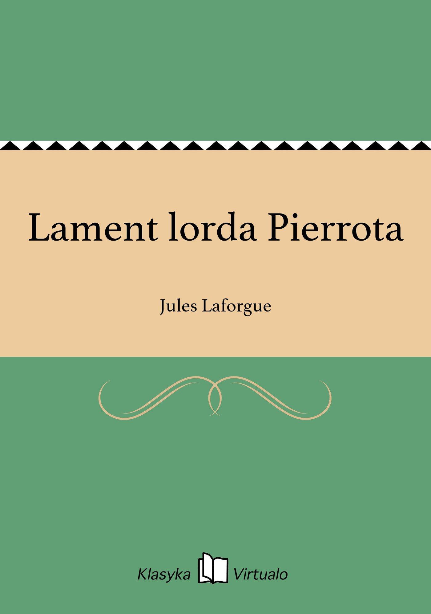 Lament lorda Pierrota - Ebook (Książka EPUB) do pobrania w formacie EPUB