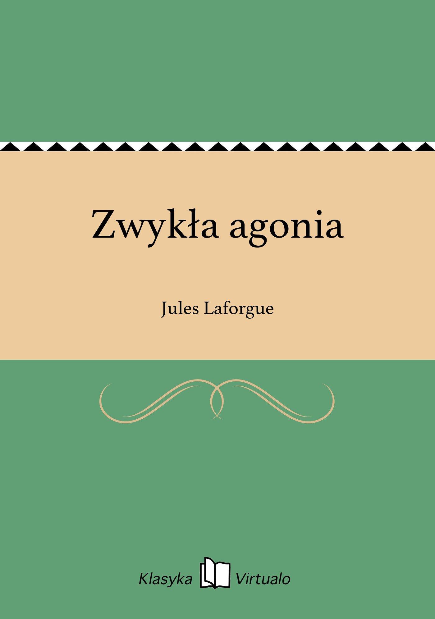 Zwykła agonia - Ebook (Książka EPUB) do pobrania w formacie EPUB