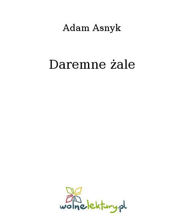 Daremne żale - Ebook (Książka EPUB) do pobrania w formacie EPUB