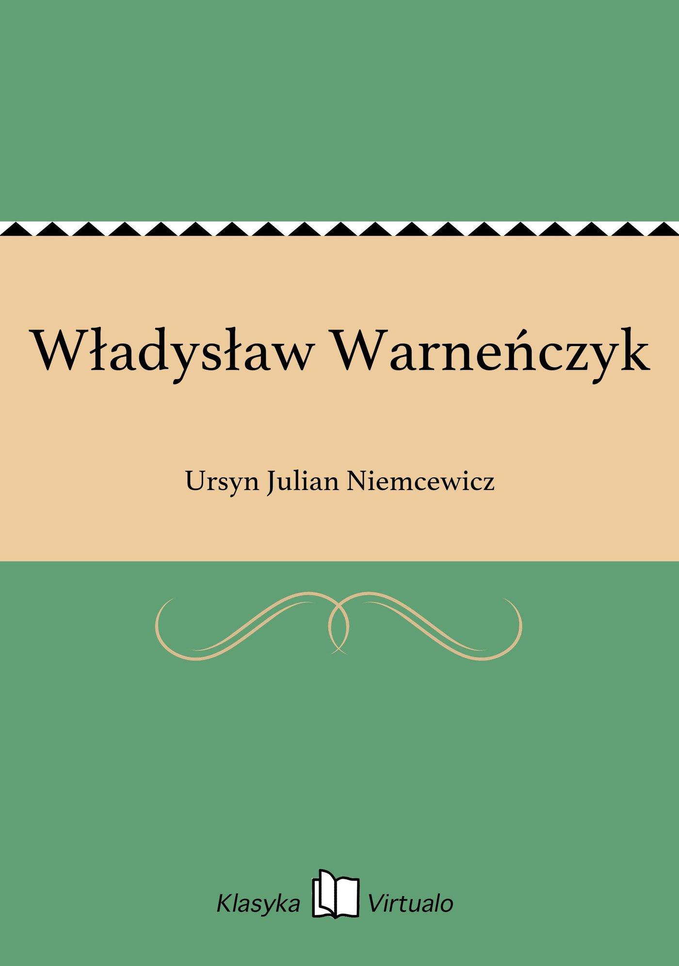 Władysław Warneńczyk - Ebook (Książka EPUB) do pobrania w formacie EPUB