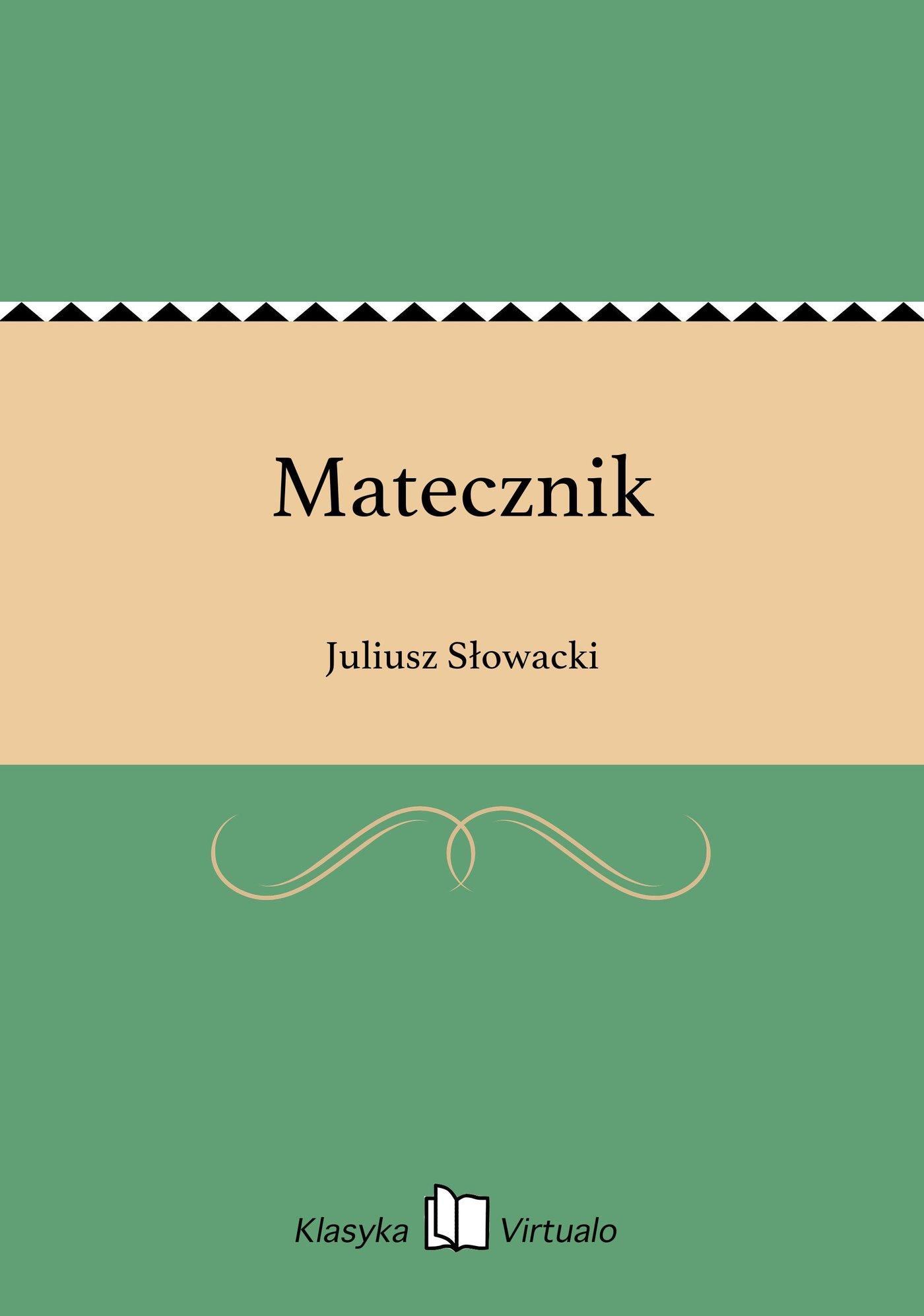 Matecznik - Ebook (Książka EPUB) do pobrania w formacie EPUB